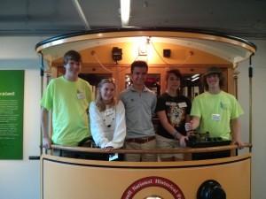 Our Tantramar Team! Left to right: Ben Hicks, Alexandra Duchemin, Max Farella, Sarah Stewart, Liam Stewart